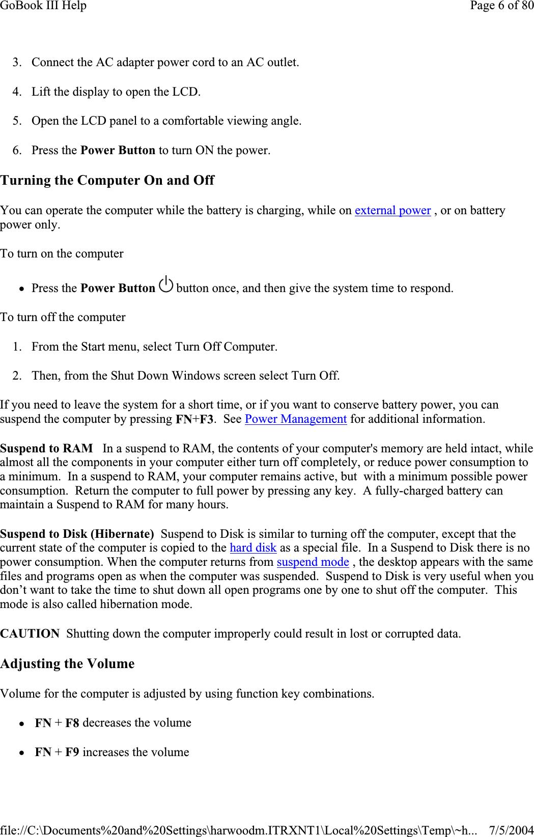 General Dynamics Itronix IX260PNL3AC580 Laptop PC with Dual-Band PCS
