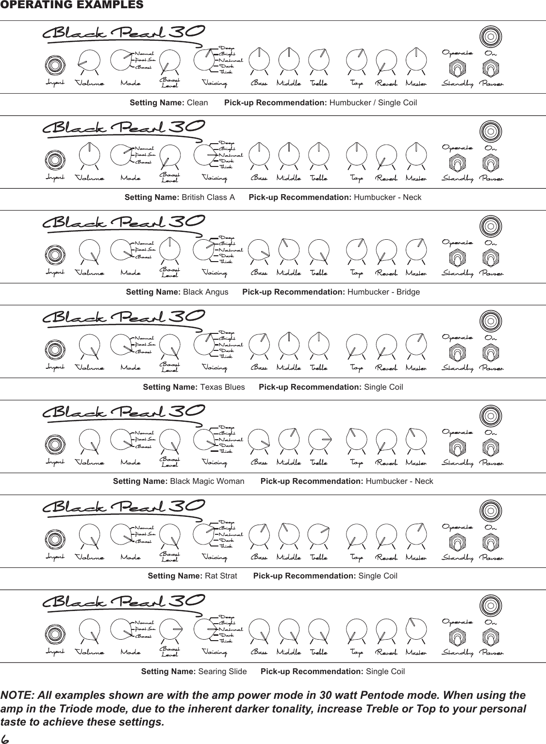 Page 6 of 8 - Genz-Benz Genz-Benz-Black-Pearl-30-Bp30-Users-Manual-  Genz-benz-black-pearl-30-bp30-users-manual