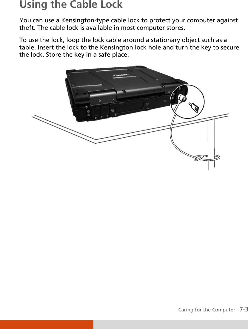 Getac B300 G4 English Manual