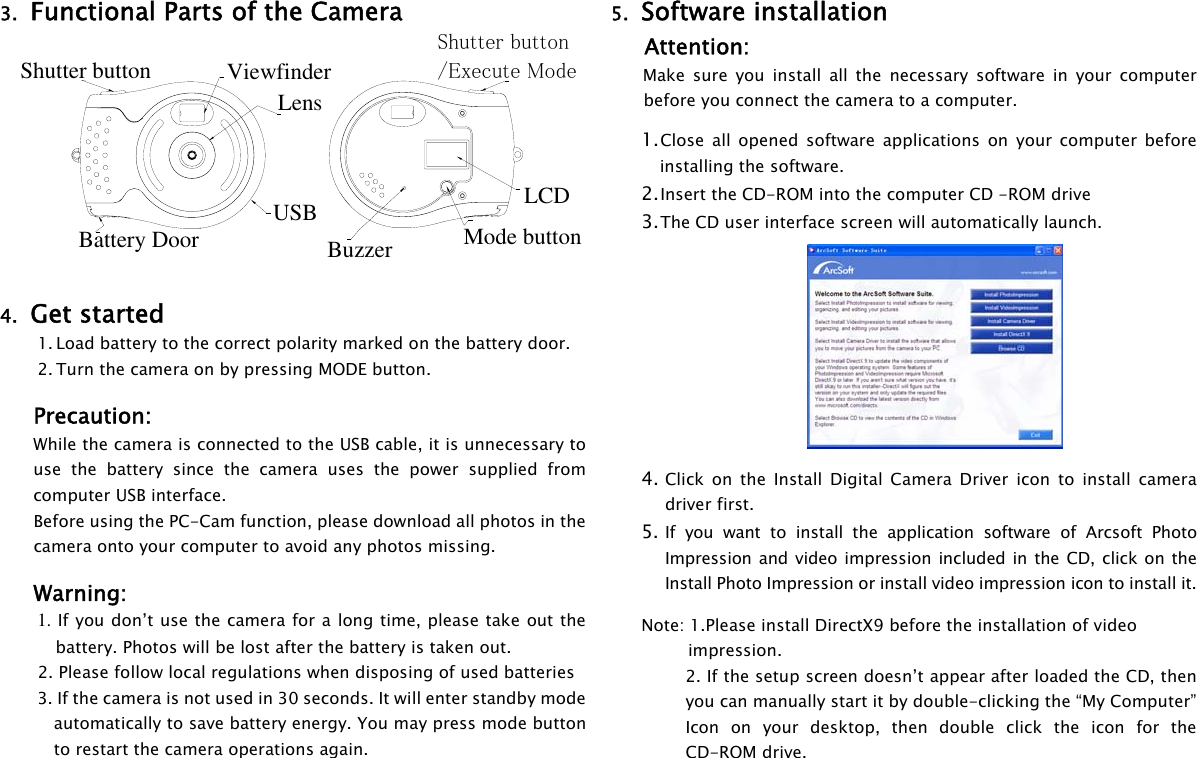 Gfm Tdc 35 Instruction Manual AM D35C AGB