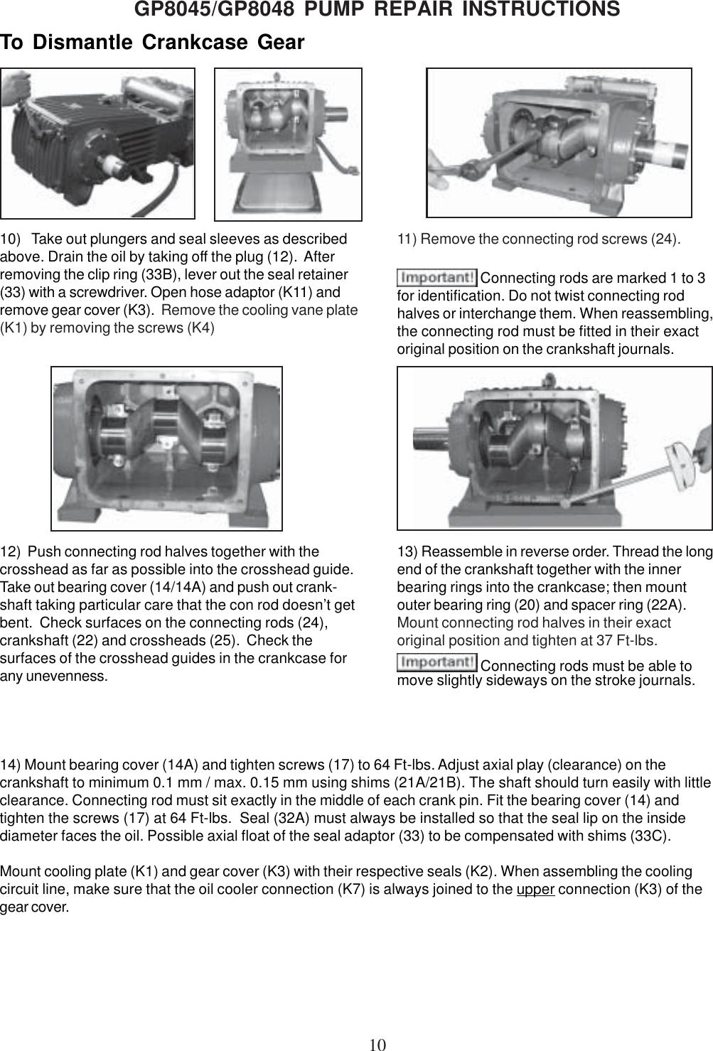 Giant Water Pump Gp8045 Users Manual GP8000