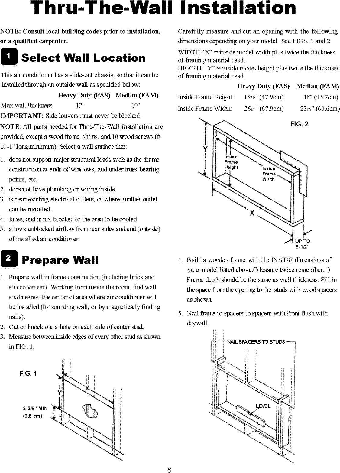 Gibson Gam154q1a1 User Manual Air Conditioner Manuals And Handler Wiring Schematic Page 6 Of 8