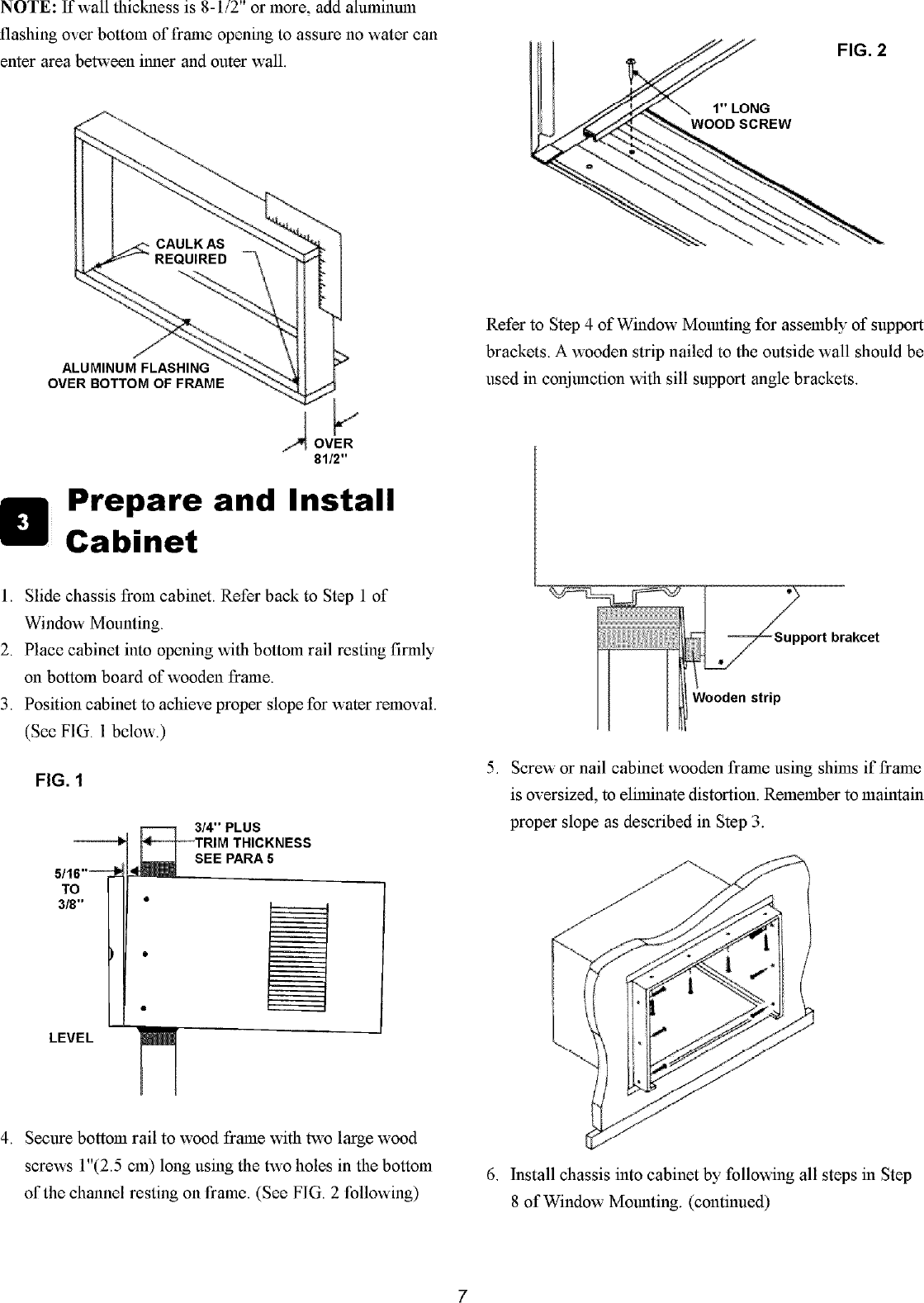 Gibson Gam154q1a1 User Manual Air Conditioner Manuals And Handler Wiring Schematic Page 7 Of 8