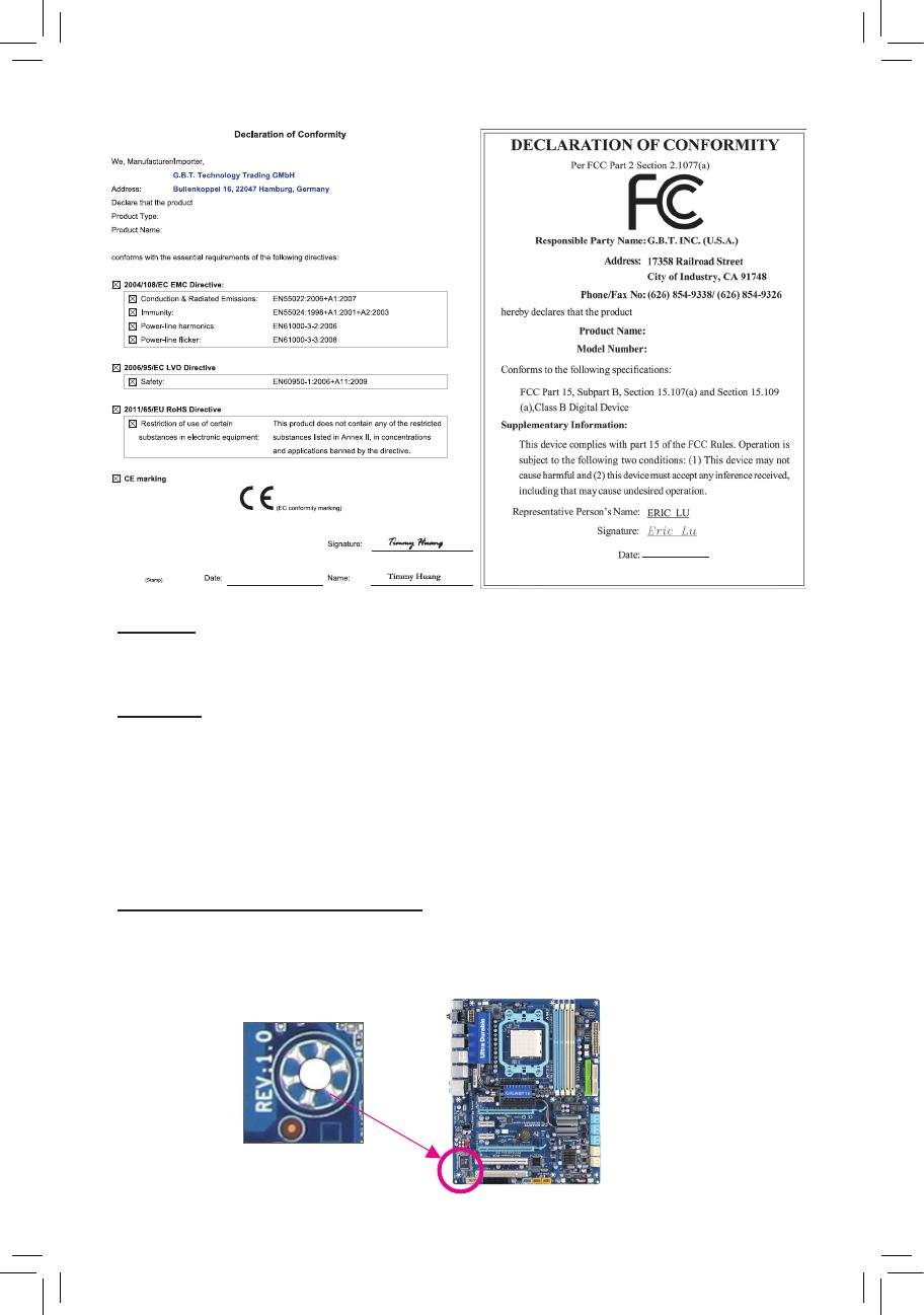Gigabyte Ga 970a Ds3p Rev 1 0 Owner S Manual