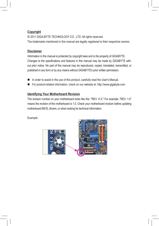 Gigabyte Ga G41Mt S2Pt Rev 2 0 Owner S Manual