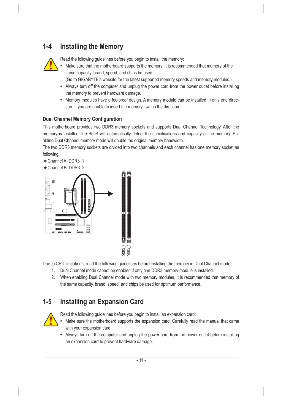Gigabyte Ga H61M S2Pv Rev 1 0 Owner S Manual
