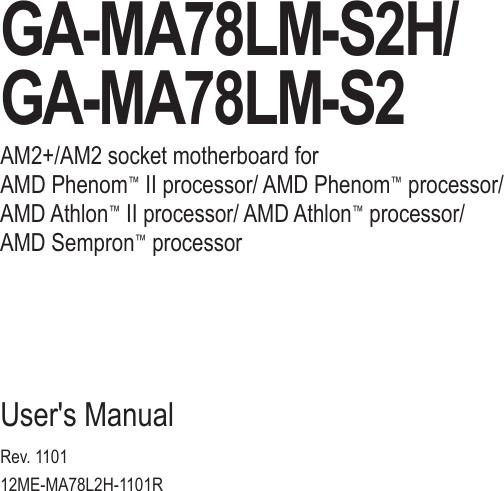 GIGABYTE GA-MA78LM-S2 AMD SATA RAIDAHCI DRIVER PC