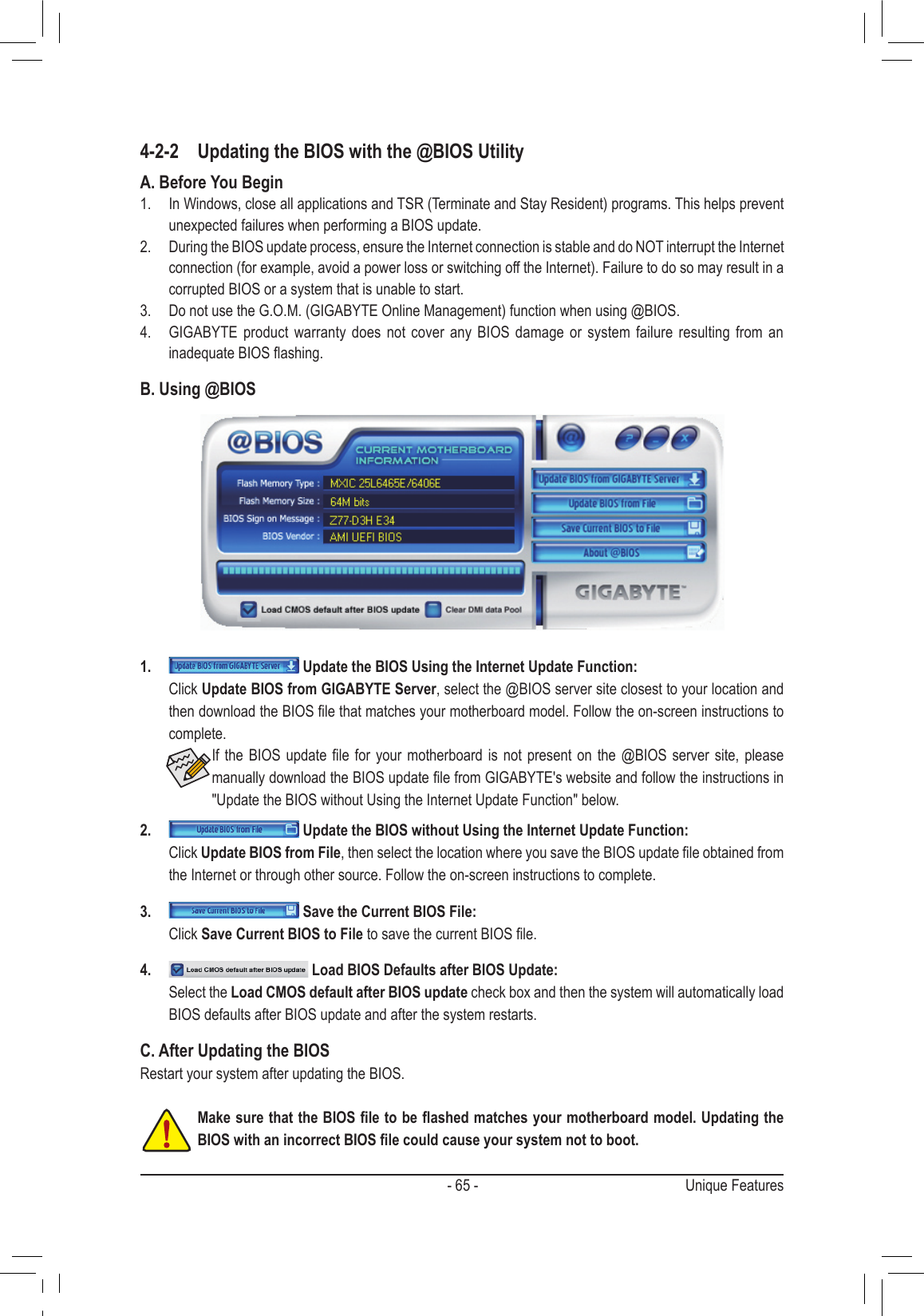 Gigabyte Ga Z77 D3H Users Manual ManualsLib Makes It Easy To Find