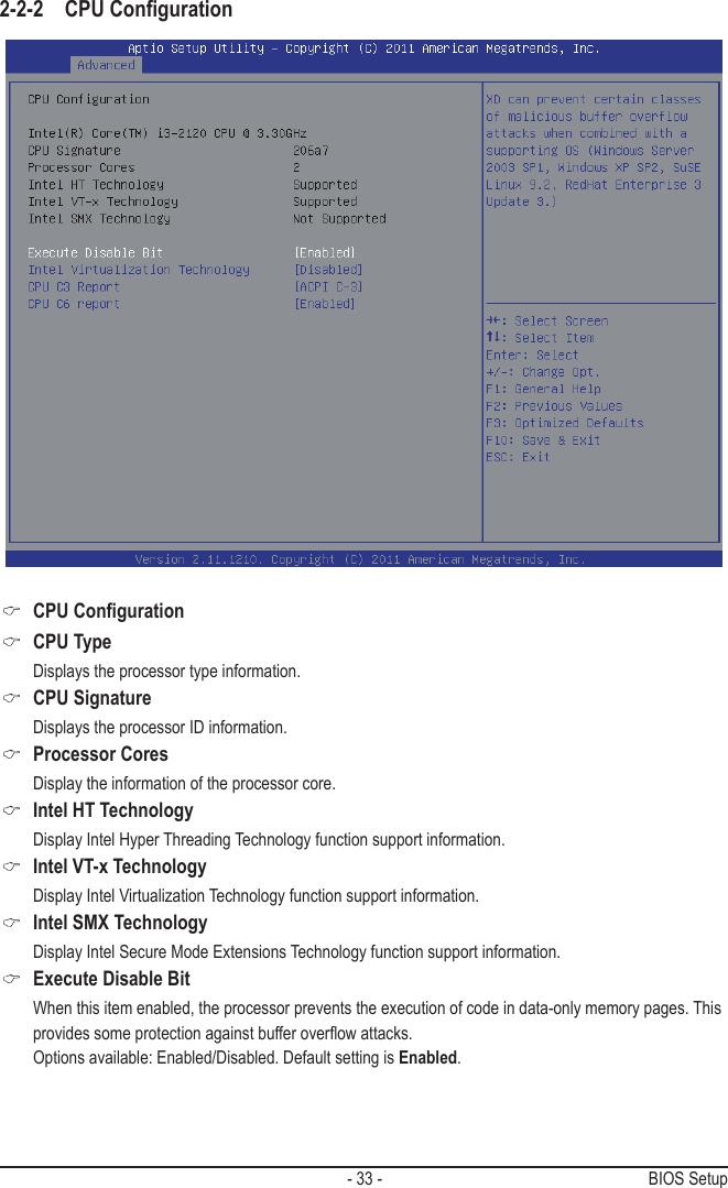 Gigabyte Msh61Di Rev 1 0 Owner S Manual