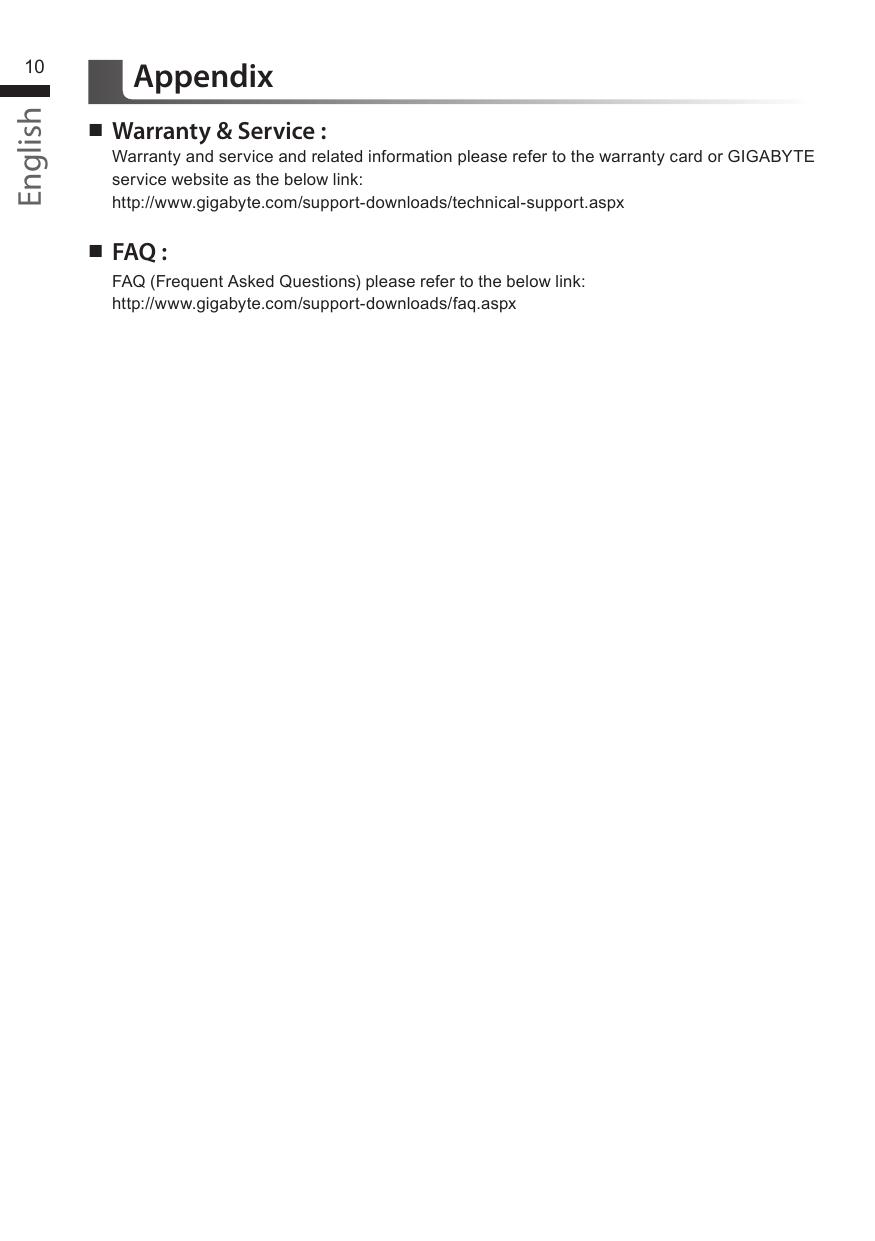 Gigabyte P25W Owner S Manual