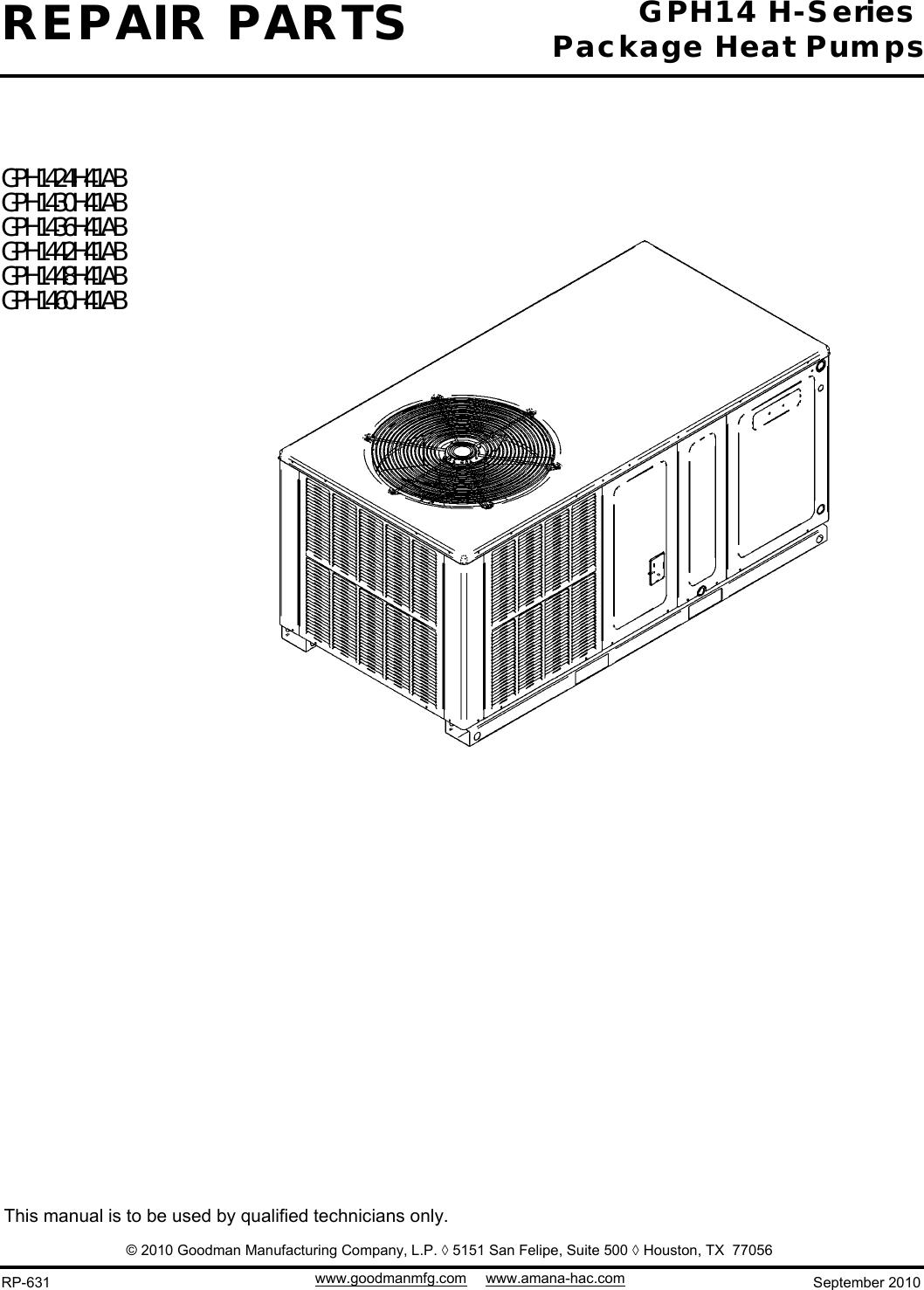 Goodman Manufacturing Wiring Diagrams | Wiring Diagram on