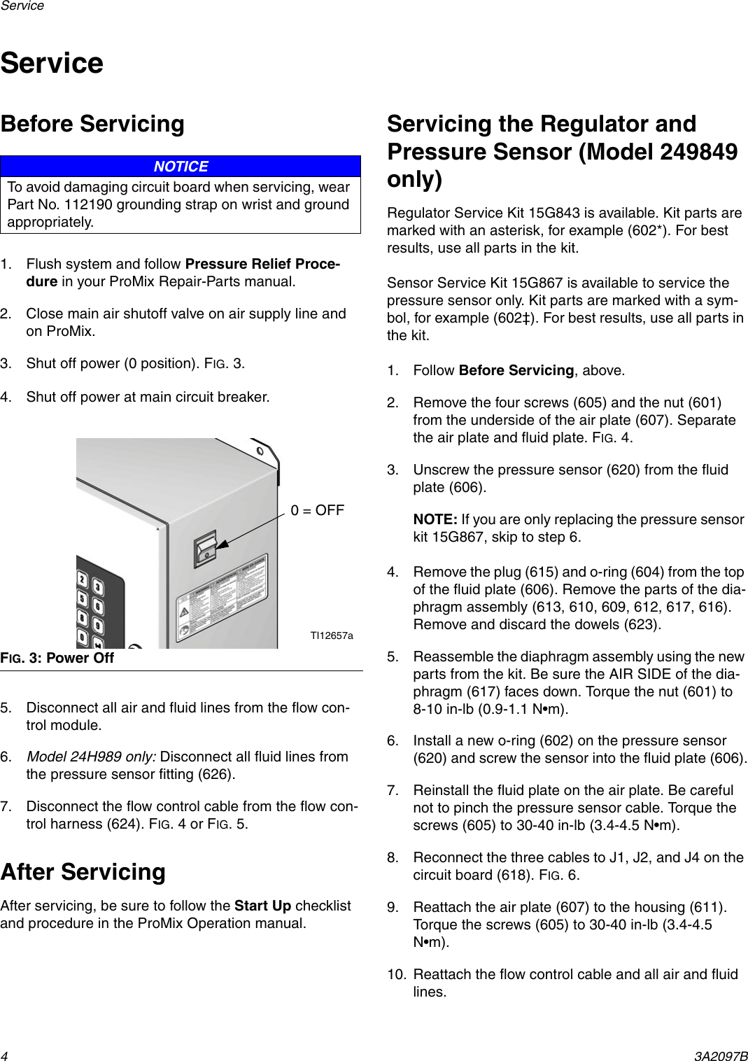 Graco 3a2097b Instructions Parts Manual For Flow Control Air Valve Schematic Page 4 Of 12
