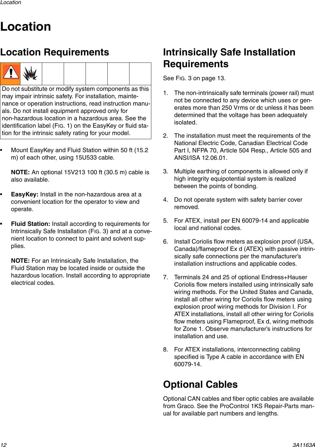 Graco 3A1163A Procontrol 1Ks Users Manual 3A1163A