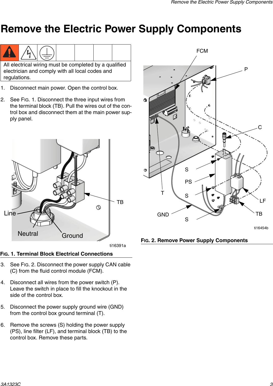 Graco 3a1323c Promix 2ke Alternator Power Conversion Kit Users Wiring Diagram Page 3 Of 6
