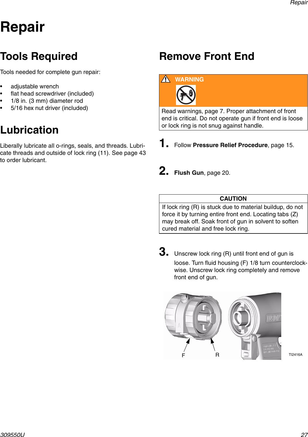 Graco Fusion 309550U Users Manual 309550U, Plural Component