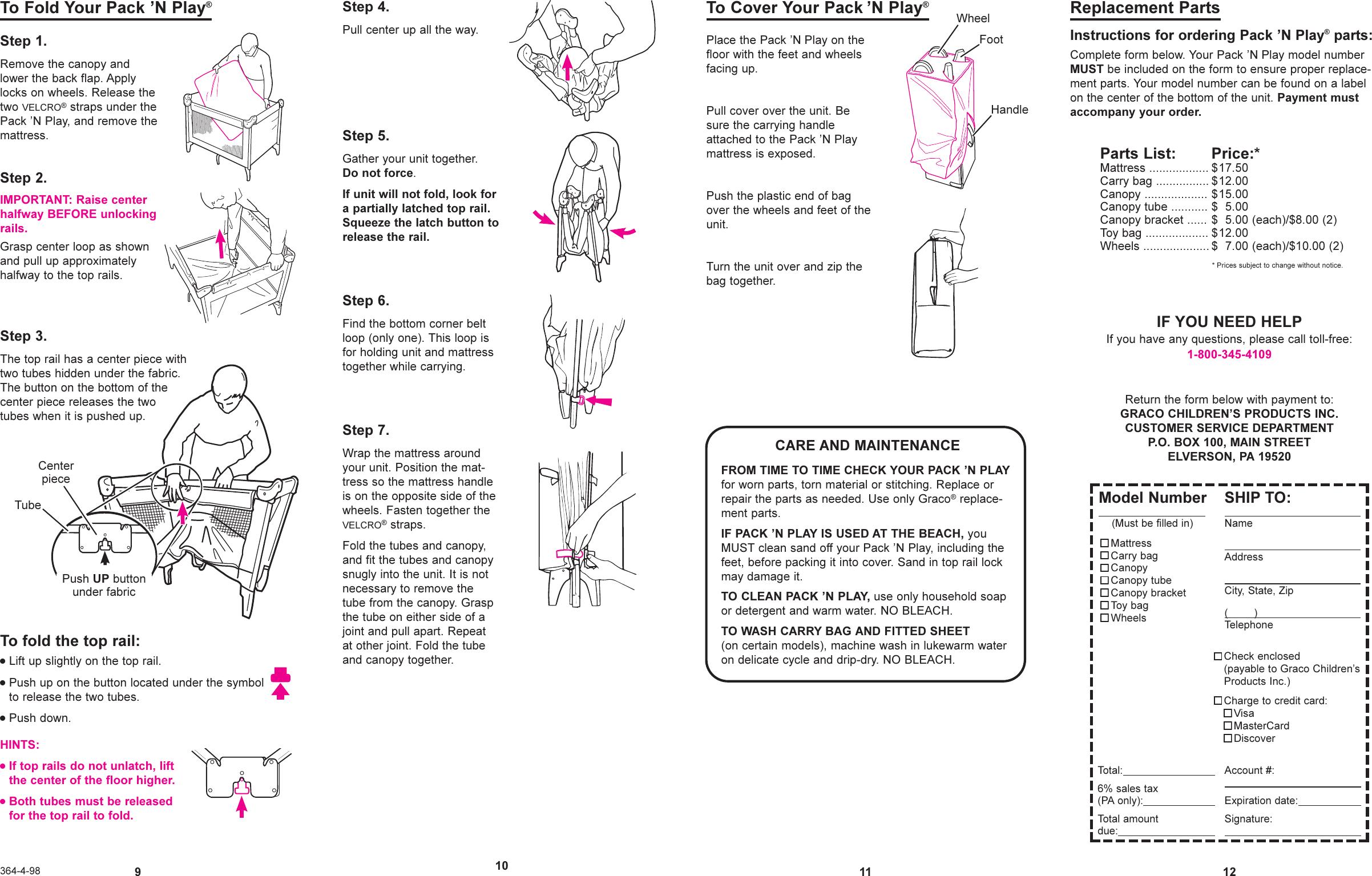graco pack n play manual pdf