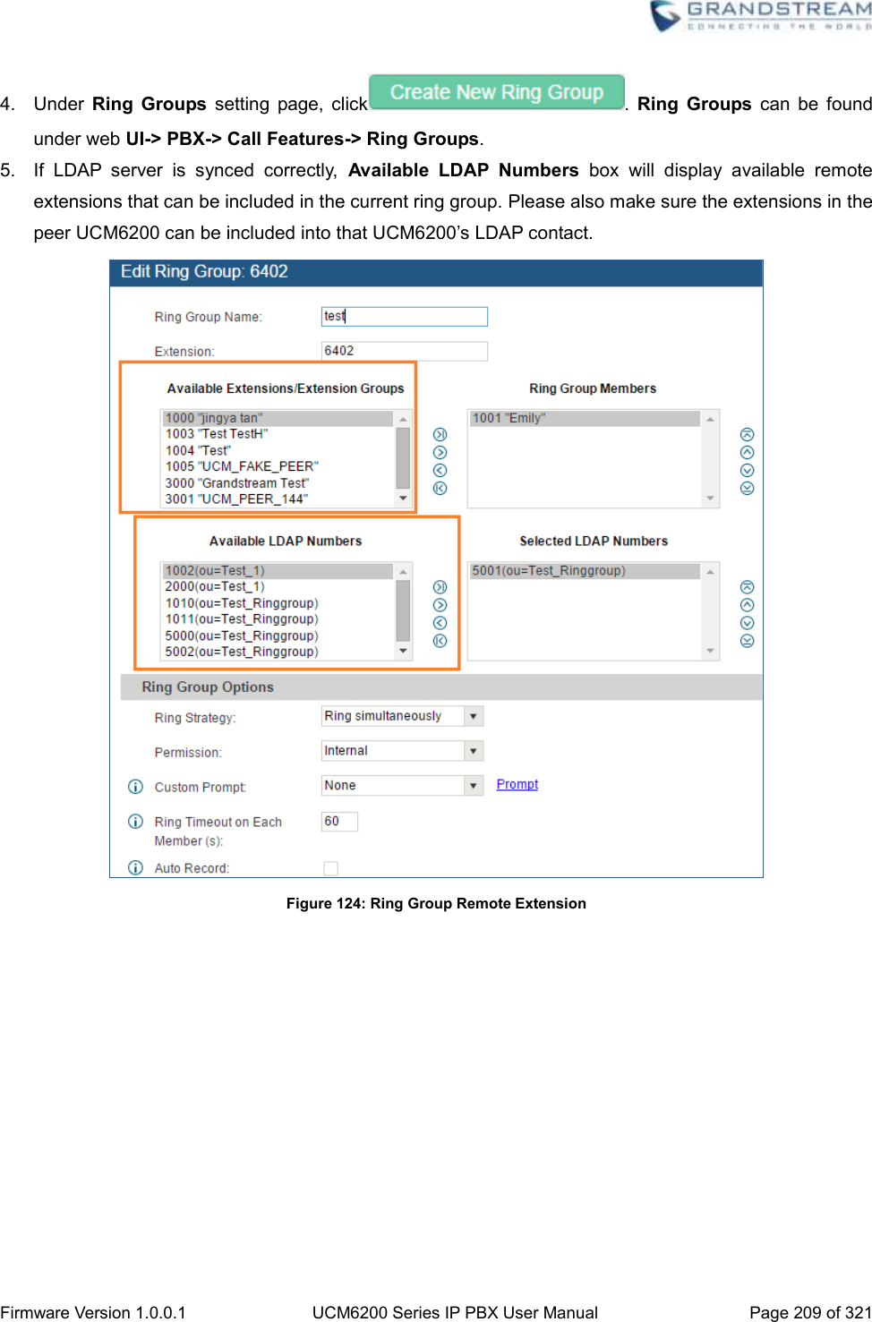 Grandstream Networks UCM6202 IP PBX User Manual