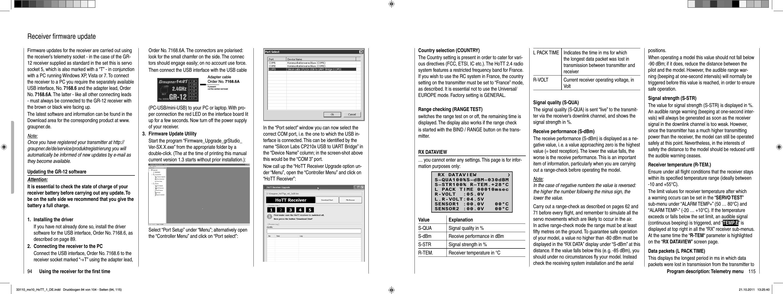 Graupner and KG MX-10 ComputerSystem Graupner HoTT User