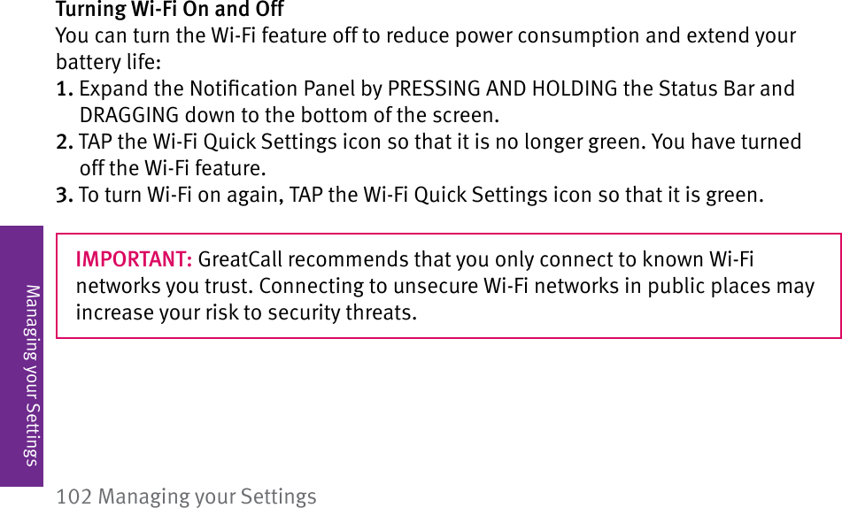 Greatcall Jitterbug Touch 3 User Guide