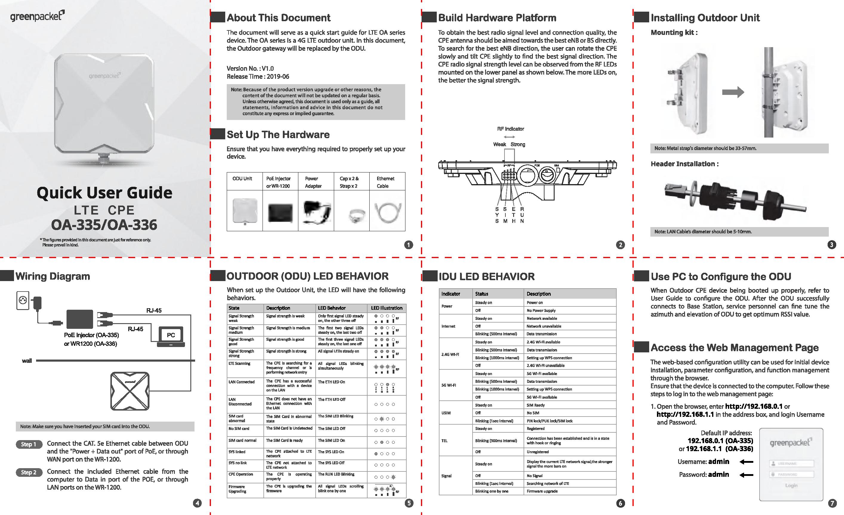 Module 1 Homework Packet Manual Guide