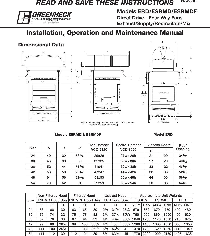 Greenheck Sq Wiring Diagram