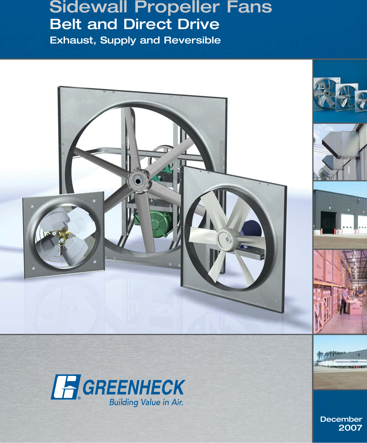 Greenheck Fan Se1 Users Manual 52337
