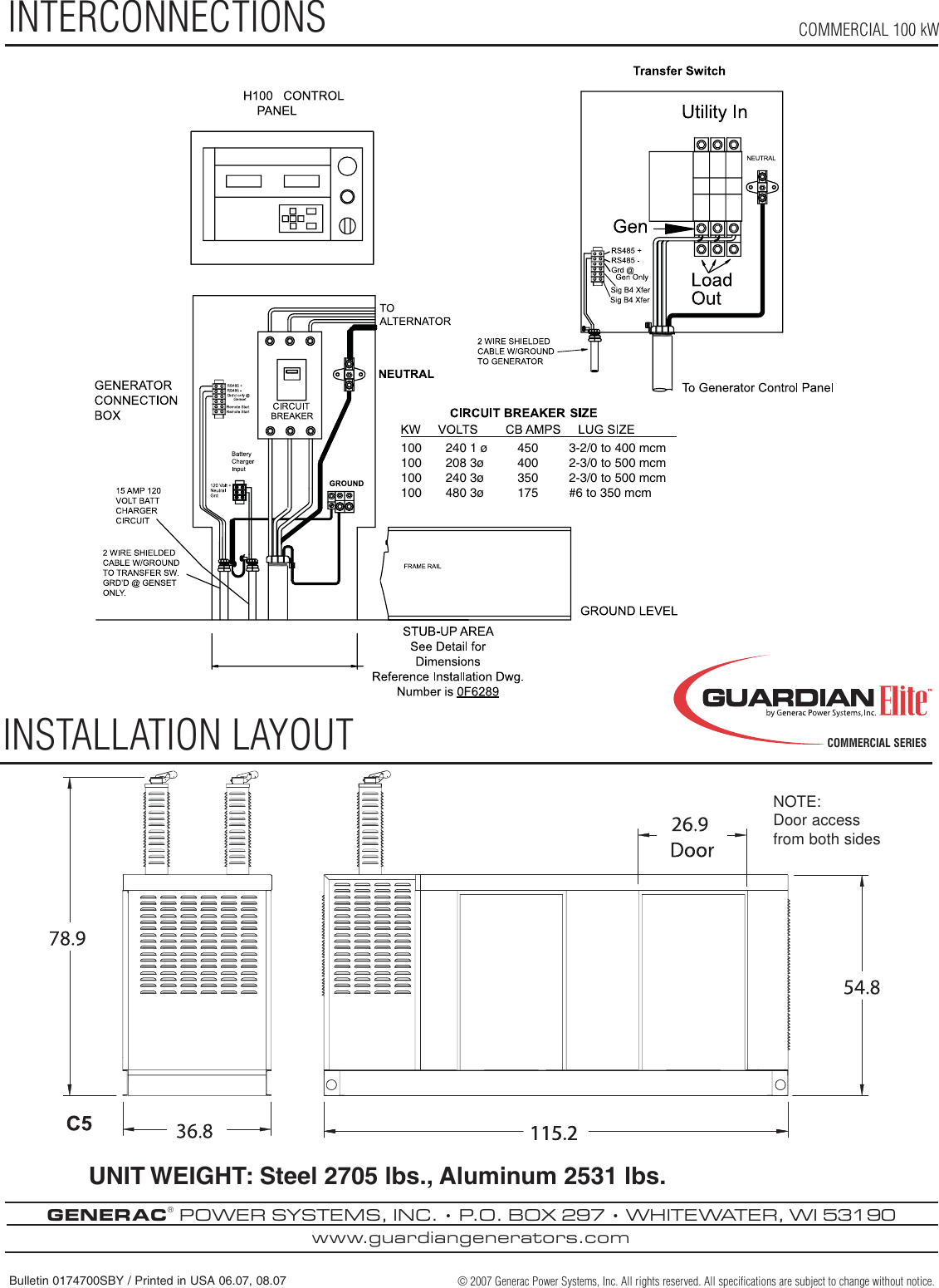 Guardian Technologies Qt10068 Users Manual 0174700sbygelitecomm100kw Cb 175 Wiring Diagram Page 4 Of