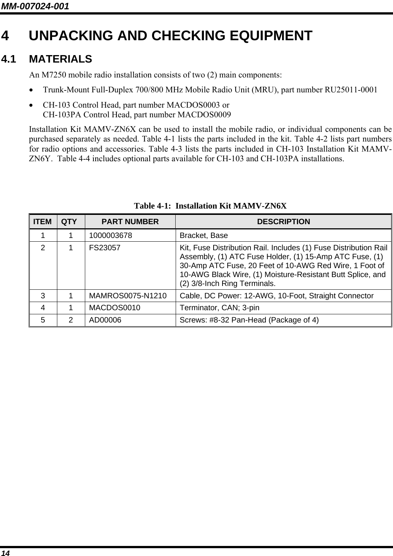 HARRIS M7200 M7200 700/800 MHz Mobile Radio User Manual manual 2