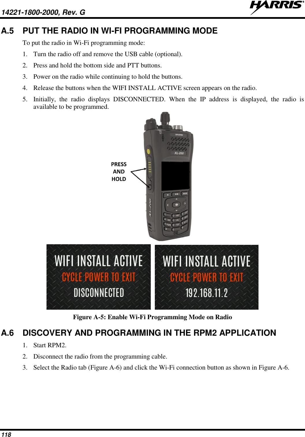 HARRIS TR-0146-E XL-200P C1D1, Multi-Band Portable Land Mobile Radio