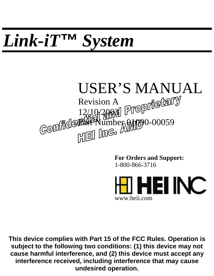 hei advanced medical division l100 link it wireless connectivity rh usermanual wiki Owner's Manual Wildgame Innovations Manuals