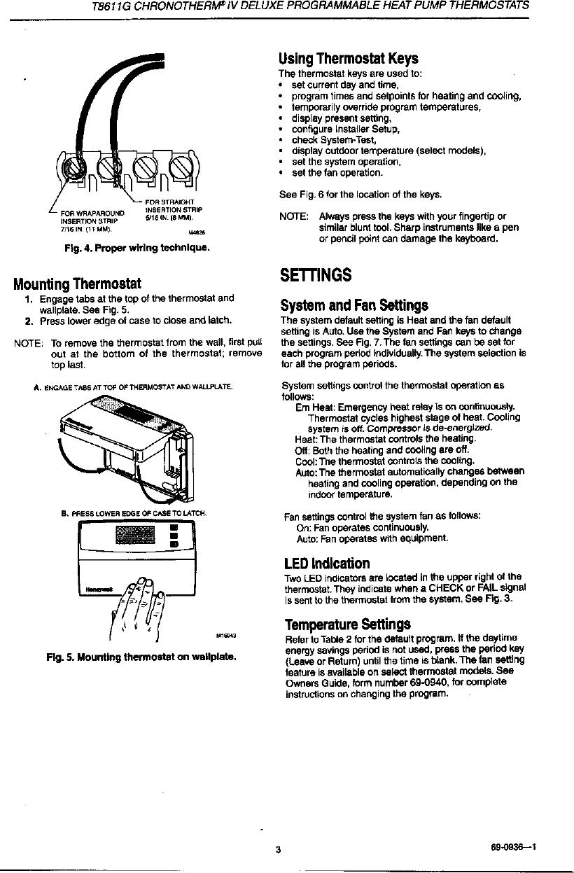HONEYWELL Controls And HVAC Accessories Manual L0011084