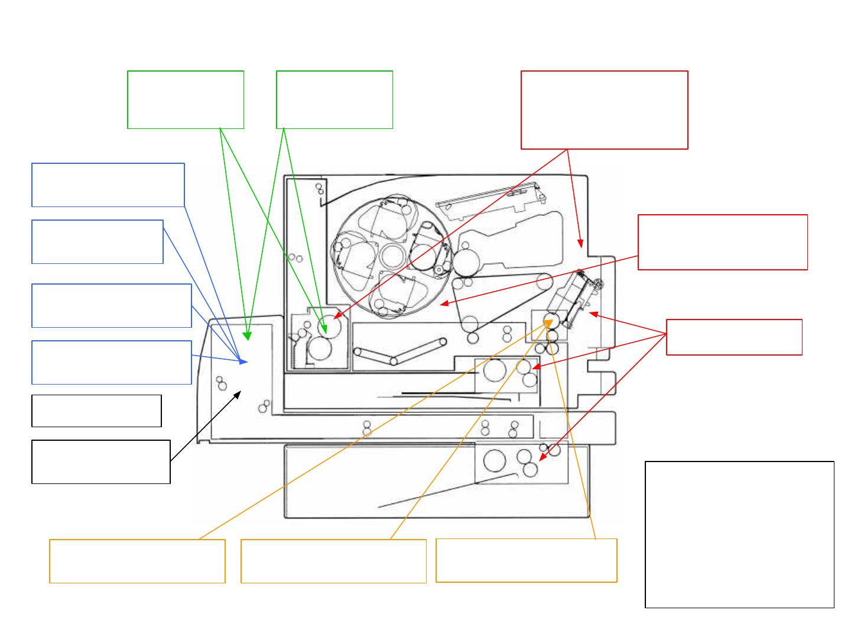 HP 4500_0428 Color Laser Jet 4500, 4500 N, DN Printer Paper