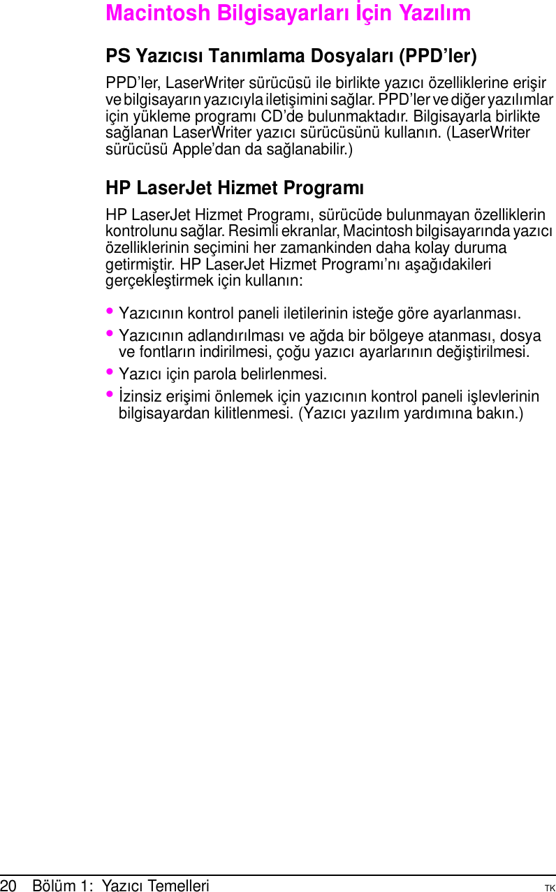 Hp Tuuseman Bk Laser Jet 5000 5000 N And Gn Printers Turkish