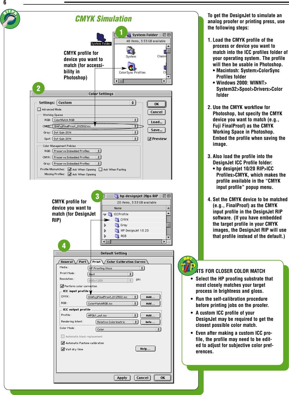 HP  HPDesignJetCMS Designjet 10/20ps Color Management