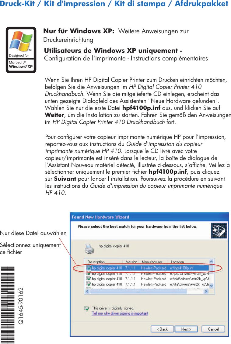 NEW DRIVERS: HP DIGITAL COPIER 410