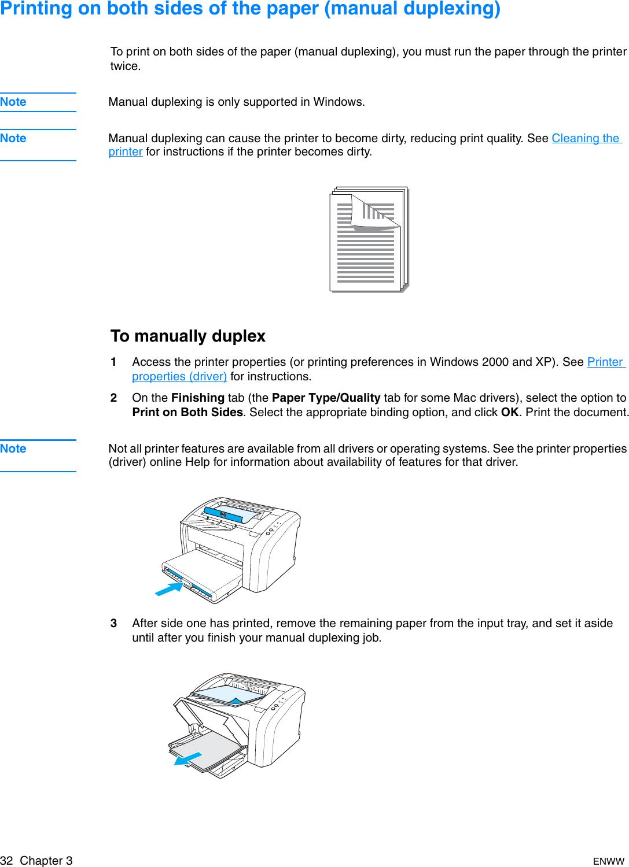 HP LaserJet 1010/1012/1015 Series Printer User Guide ENWW