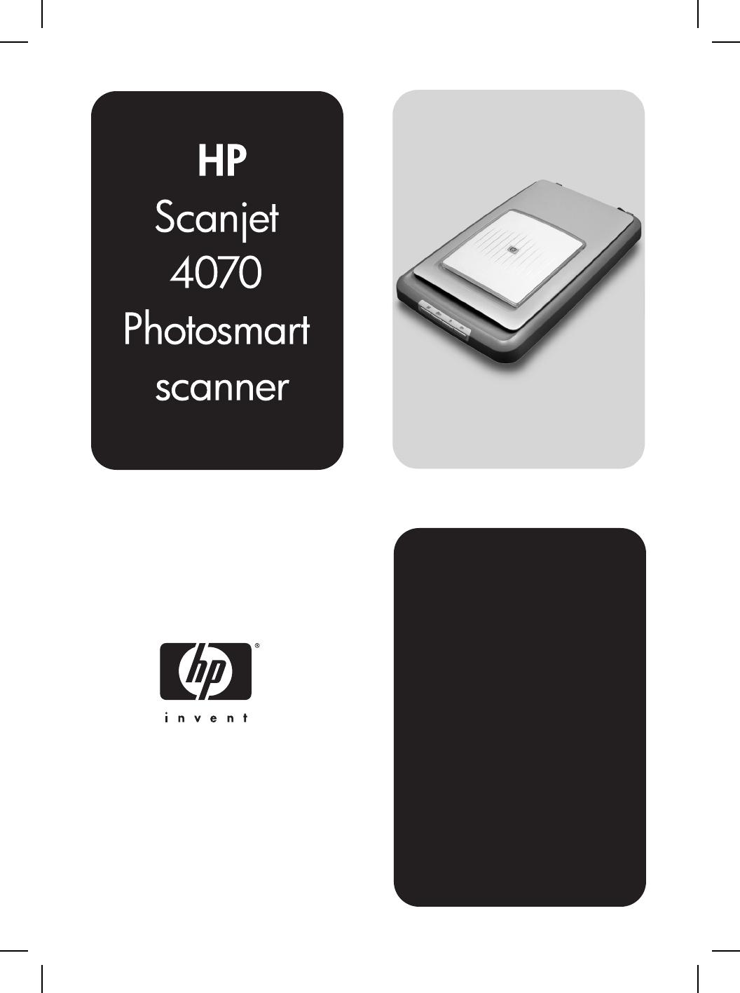 4070 PHOTOSMART SCANNER DRIVER FOR PC