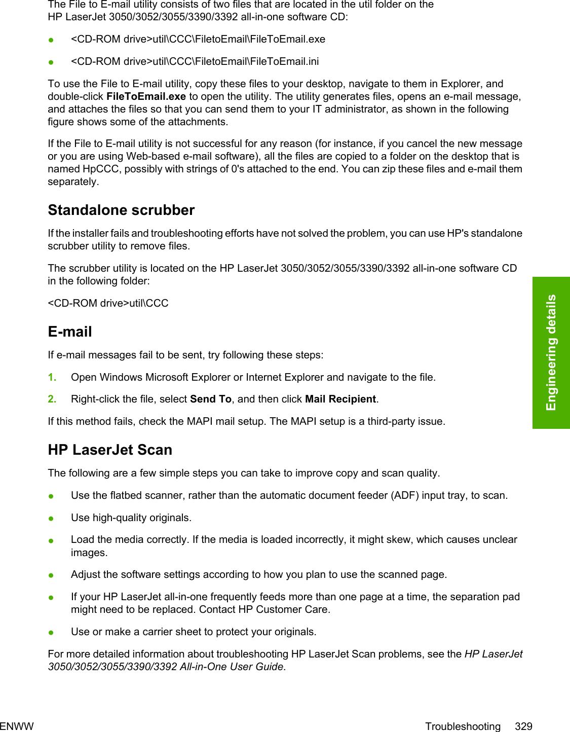 HP LaserJet 3050/3052/3055/3390/3392 All in One Software Technical