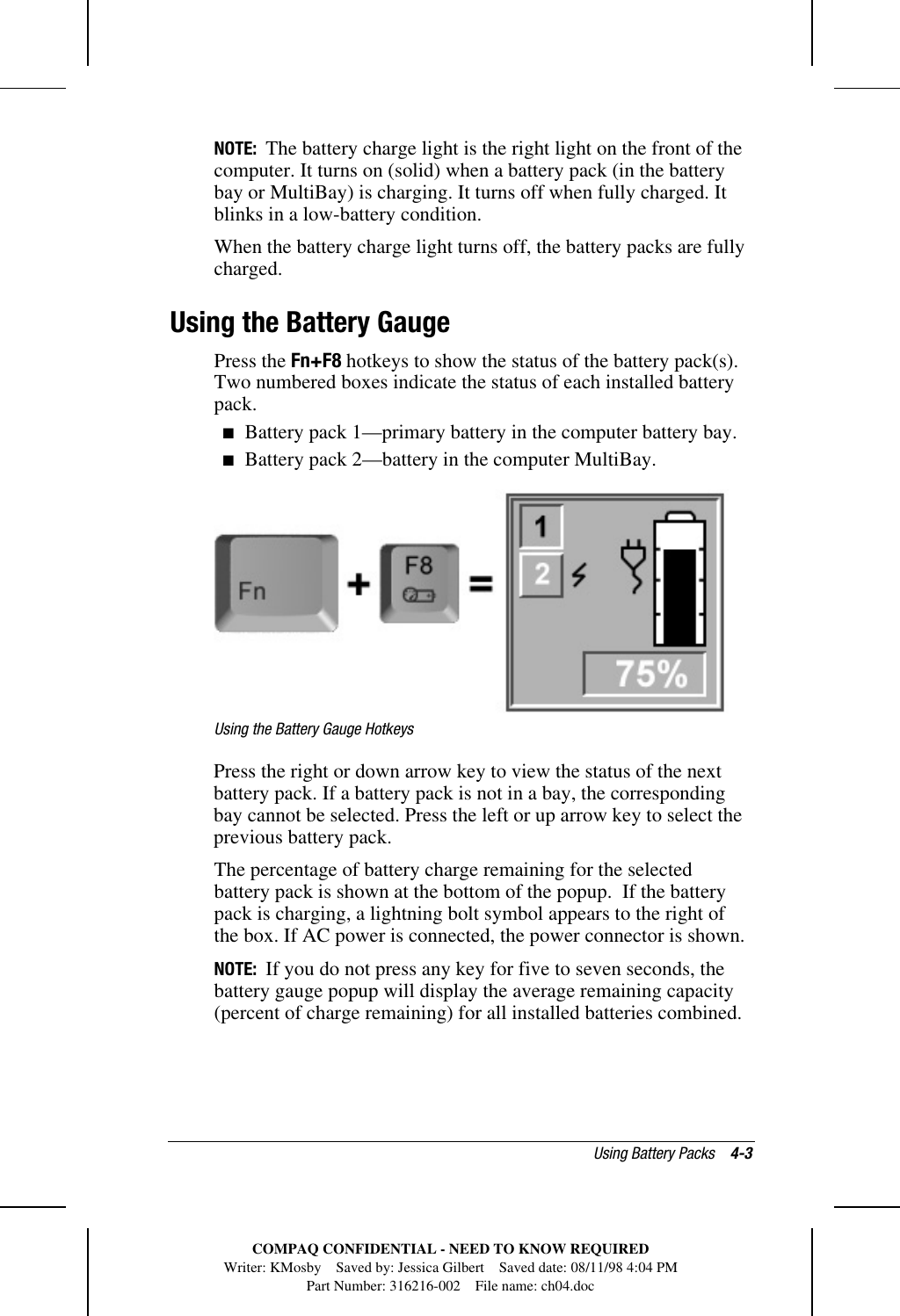 HP Compaq Armada 1700 Series Reference Guide C01129729