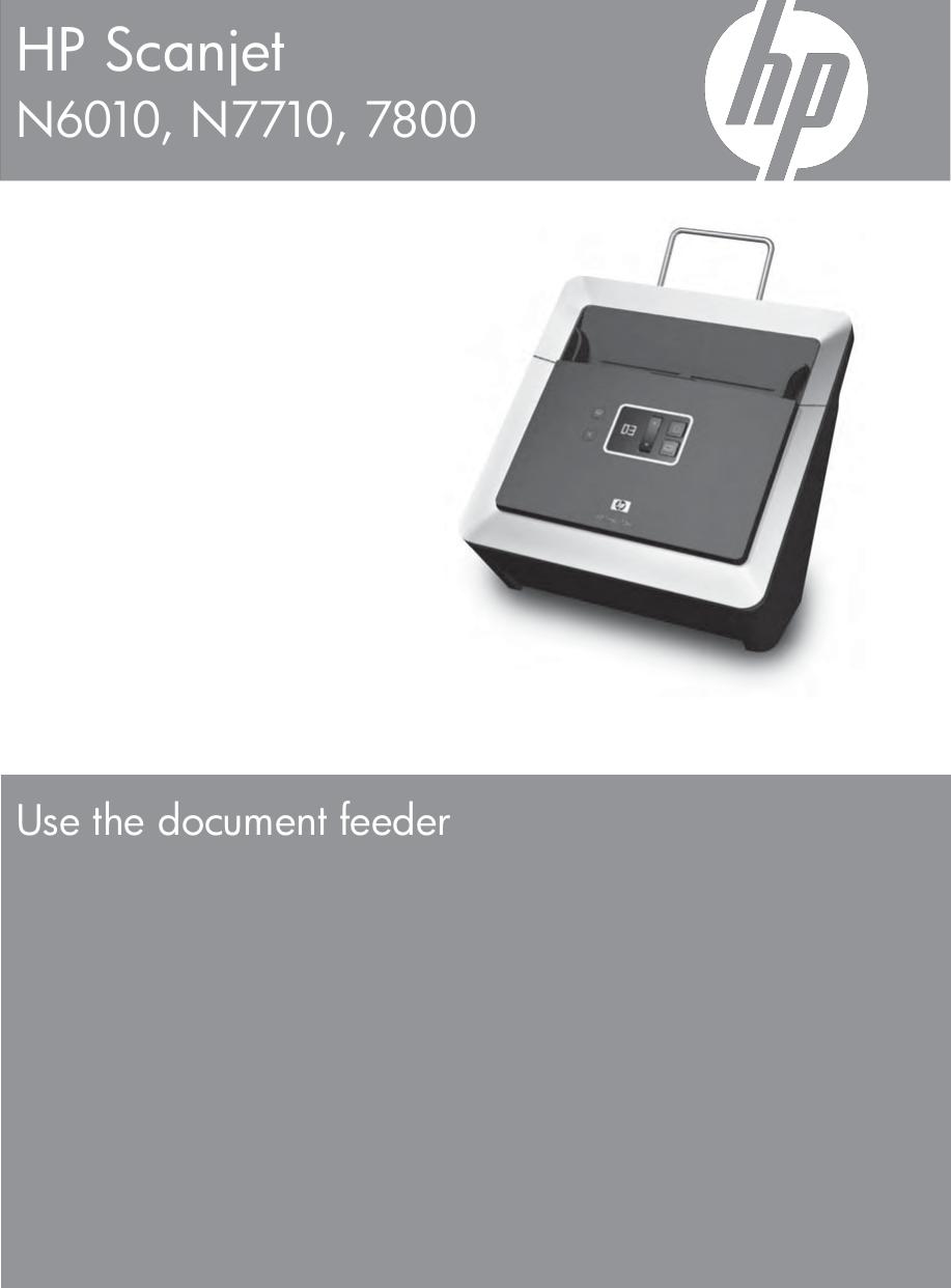 HP Scanjet N6010 Scanner