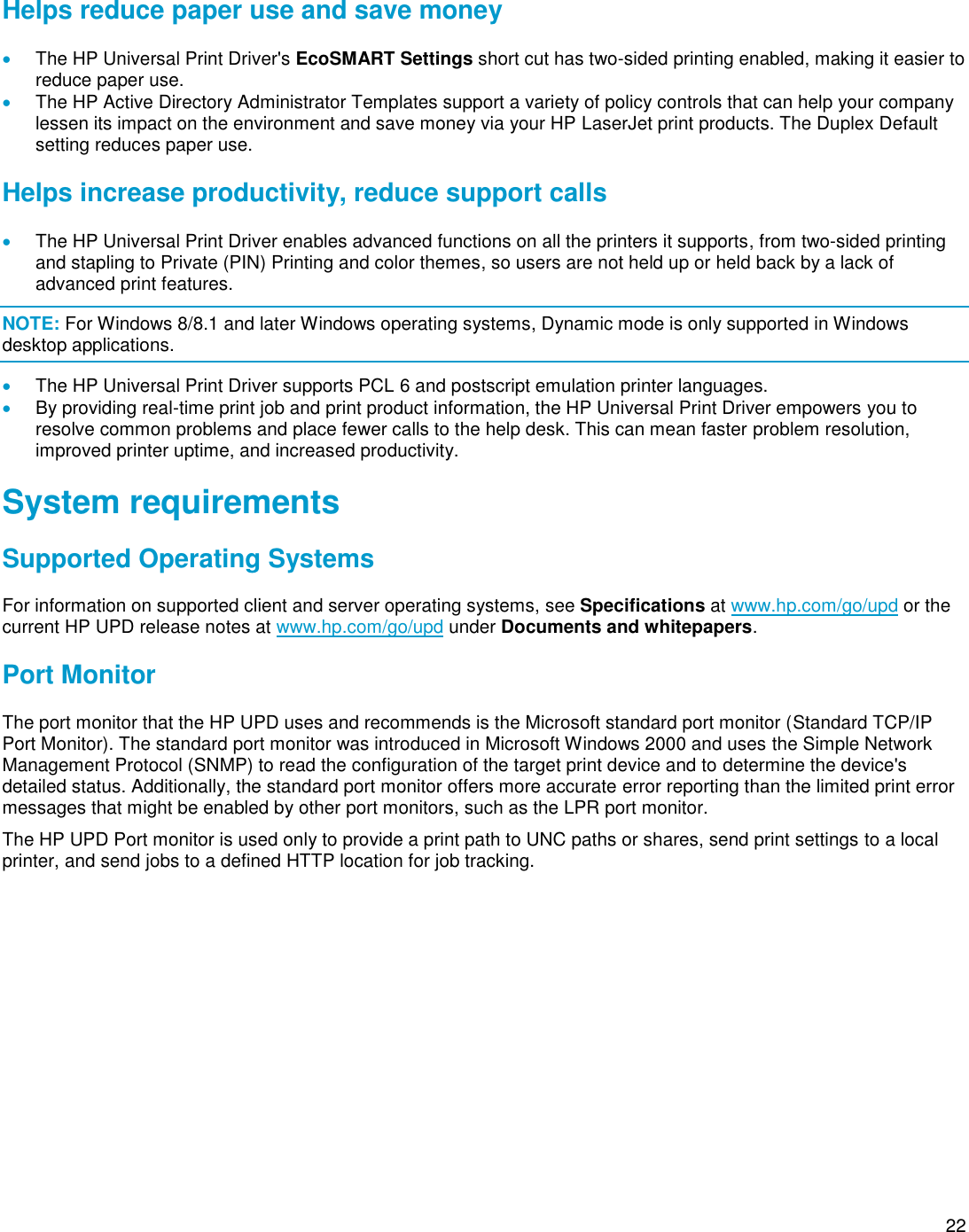 HP UPD System Administrator's Guide C03633736