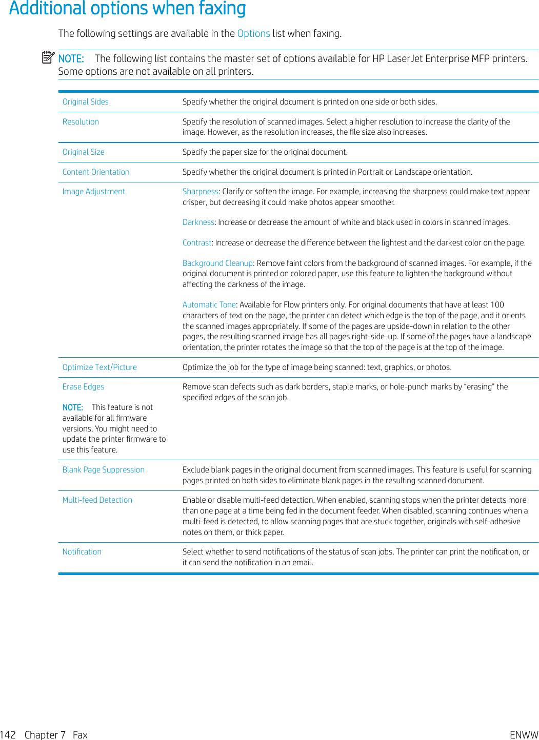 HP LaserJet Enterprise MFP M631, M632, M633 User Guide ENWW Laser
