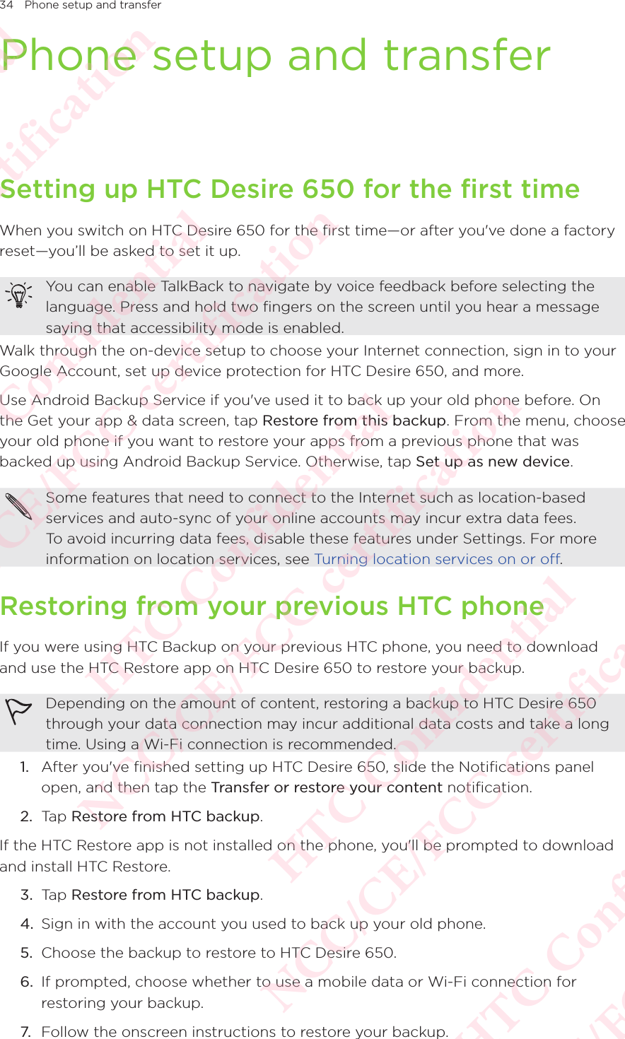 Htc 2pyr100 Smartphone User Manual Part 1