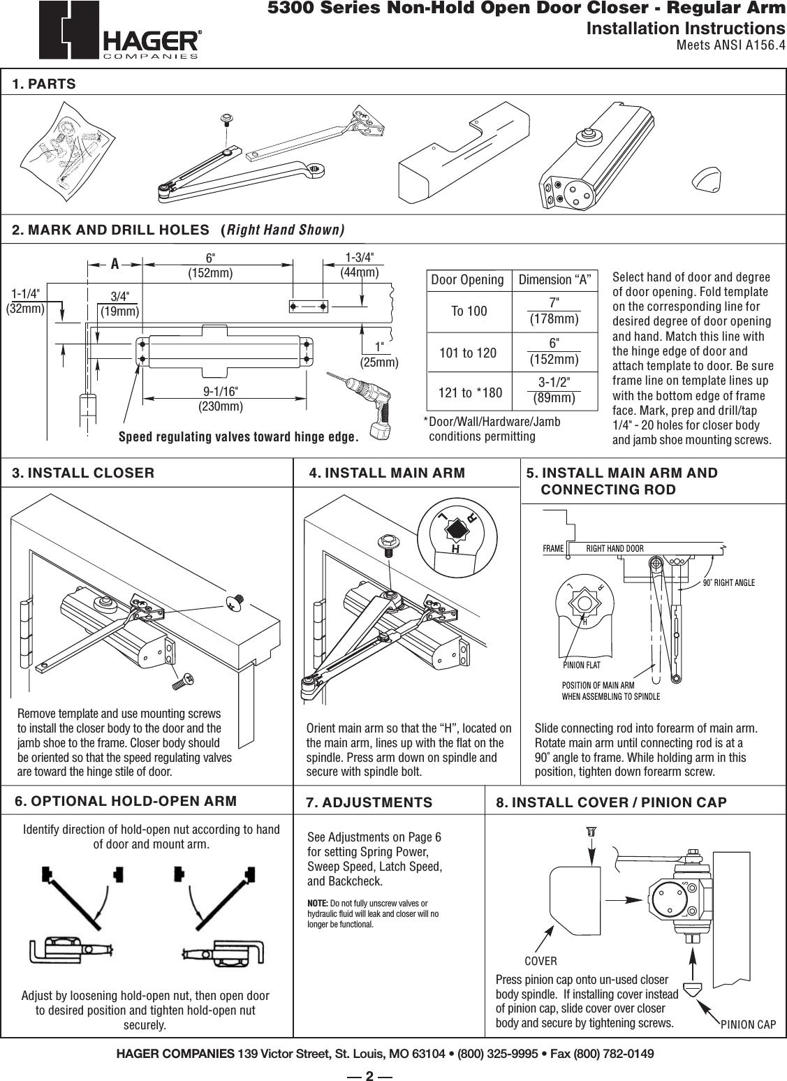 Door Closer Fs Manual Guide