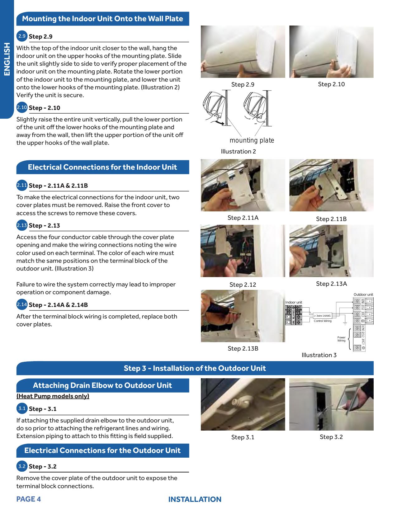 Haier Aw09eh2vha User Manual Air Handler Indoor Blowerevap Wiring Diagrams Page 4 Of 10