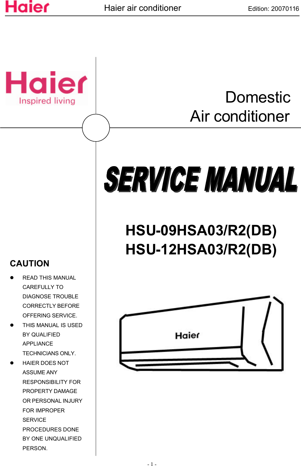 Haier Air Conditioner Wiring Diagram - All Diagram Schematics on