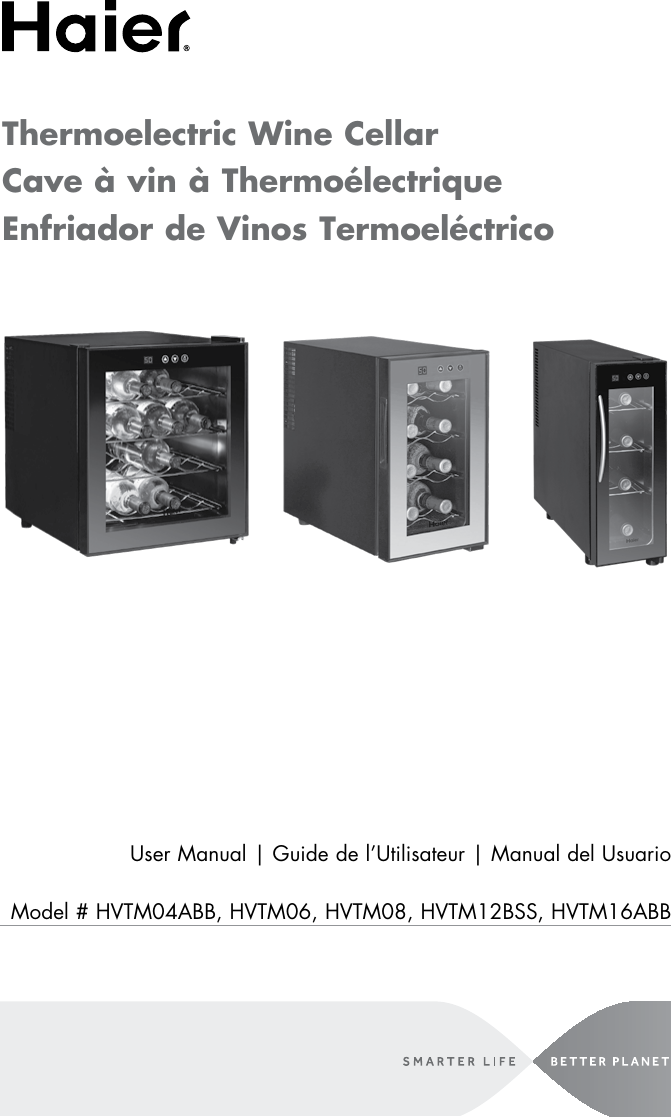 Haier Refrigerator Hvtm04Abb Users Manual