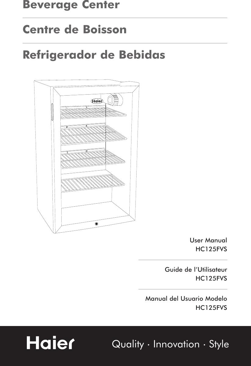 haier hc125fvs users manual hc61 92 125e rh usermanual wiki Haier Parts Haier Parts