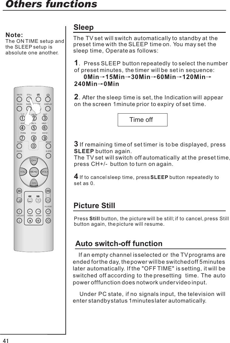 Haier P42Lv6 T1 Users Manual T1£¨Ó¢ÎÄ˵Ã÷Êé EX52+ 01´ÎÐģ©06 09 26