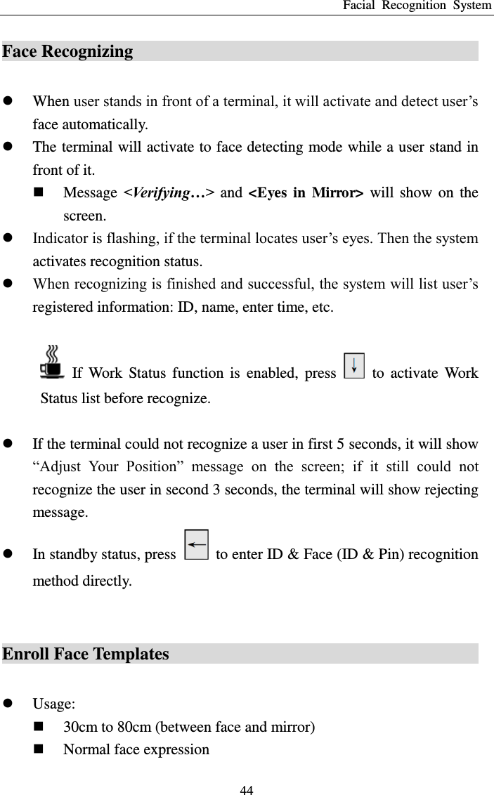 Hanwang technology faceid f faceid time attendance and access page 45 of hanwang technology faceid f faceid time attendance and access control terminal sciox Gallery